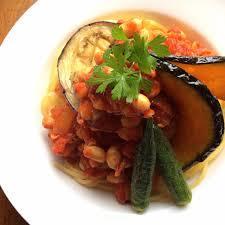 ゴロゴロ野菜のパスタ2