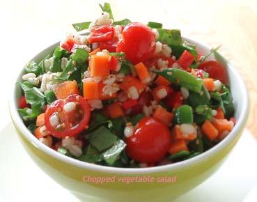 チョップ野菜サラダ