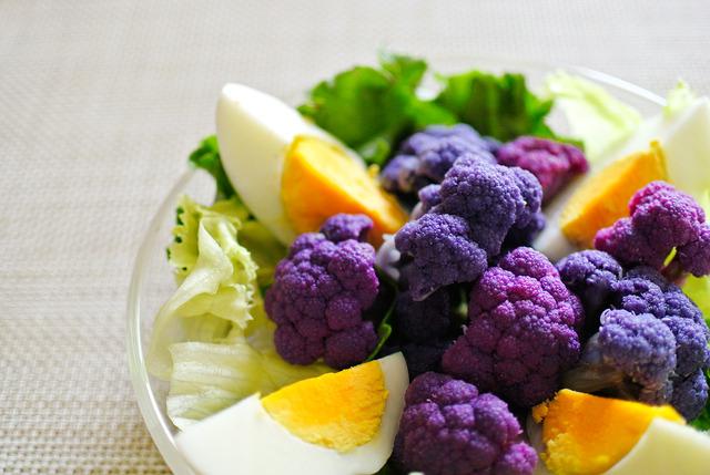 紫カリフラサラダ