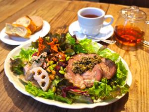 ローストポークと野菜渋谷